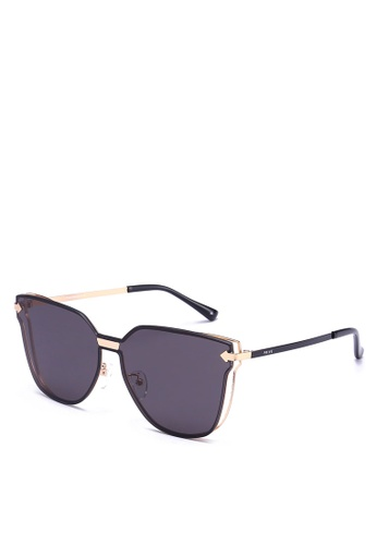 Privé Revaux black and gold The Madam Sunglasses PR660GL0RC46MY_1