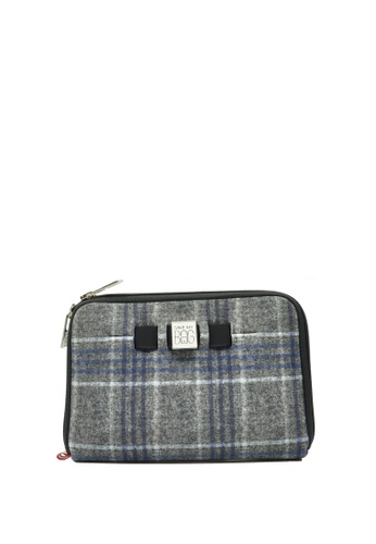 SAVE MY BAG grey Urban Wallet Plaid 97745AC263AA8DGS_1