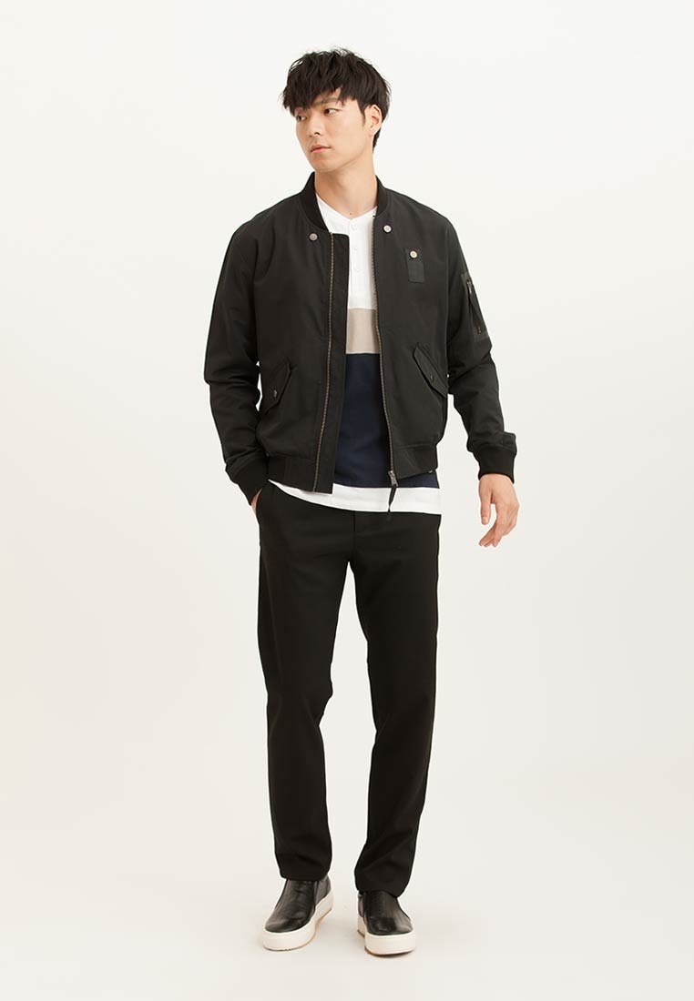 H Bomber Black CONNECT CONNECT H Jacket 4q5wx4Ar