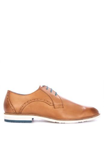Alberto beige Formal Lace Up Shoes 9047ESH2F6A4E5GS_1
