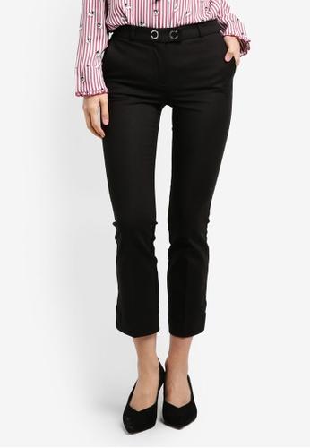 Mango black Straight Trousers MA193AA0RXREMY_1