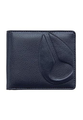 Nixon blue Nixon - Haze Bi-Fold Wallet Indigo NI855AC86EIBSG_1
