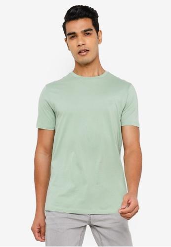 Springfield green Basic Logo T-Shirt 0620DAA53DD0B4GS_1