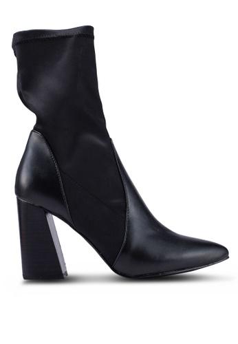 262ce0f158 Buy NA-KD Pu Satin Sock Boots Online | ZALORA Malaysia