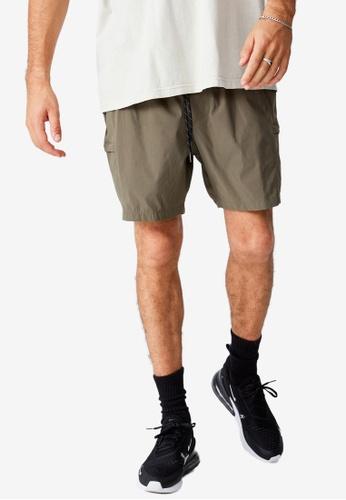 Cotton On green Nylon Urban Shorts 2BD22AAE67B53CGS_1