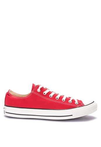 Converse red Chuck Taylor Core Low Top Sneakers 06D58SHF590EBBGS_1