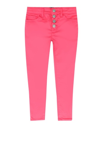 GAP pink Exposed Buttons Jeans 1B9E6KA6BF45C8GS_1
