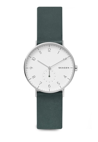 Skagen green Aaren Analog Watch SKW6466 D876CAC3A32A30GS_1