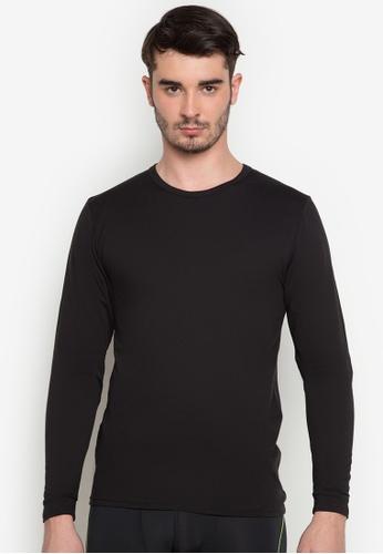 Walker Underwear black Thermal Top in Black DB118AA530E321GS_1