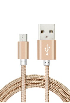 Metallic Fast Charging Data Cable for Android