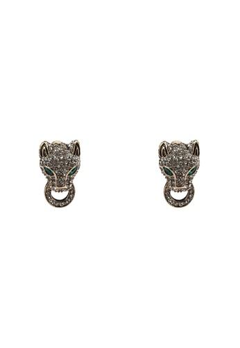 ALDO green Rendawen Pierced Earrings 190B7AC3EE3980GS_1