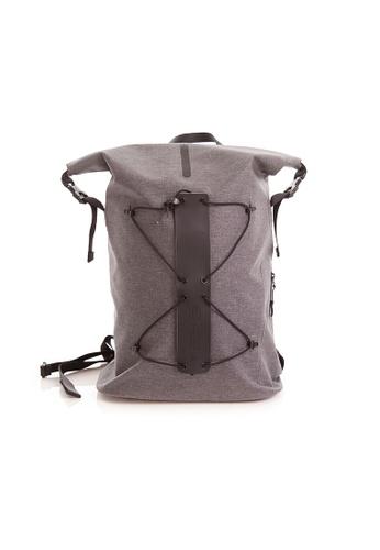 RYZ grey RYZ Everyday Travel Water Repellent Grey Backpack. 59D1DAC62B9ABBGS_1