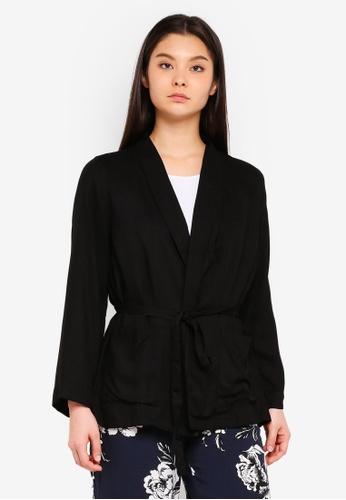 Cotton On 黑色 Nixon Kimono 23327AA5A55E93GS_1