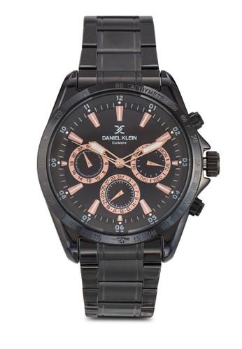 44mm DK11022 三顯示接鏈圓zalora時尚購物網的koumi koumi錶, 錶類, 飾品配件