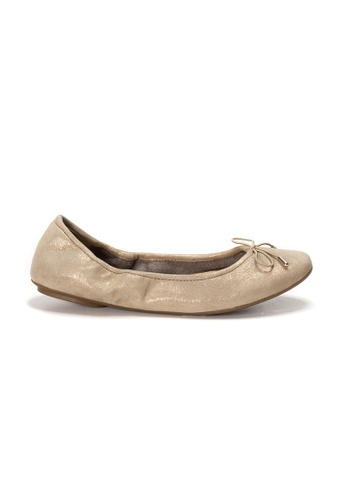 Shu Talk gold AMAZTEP NEW Comfy Sole Suede Leather Ballerina Ballet Flats 6FCEDSH0147FEEGS_1