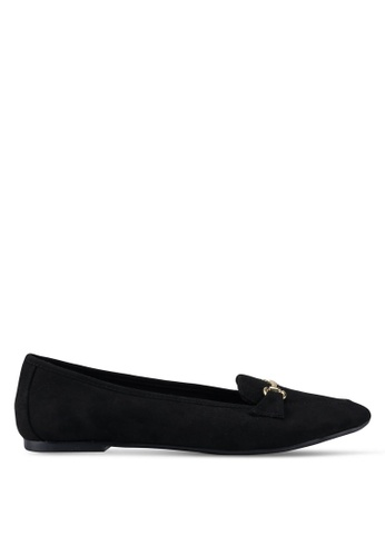 Dorothy Perkins black Black Louie Snaffle Loafers C29E8SH80E285BGS_1