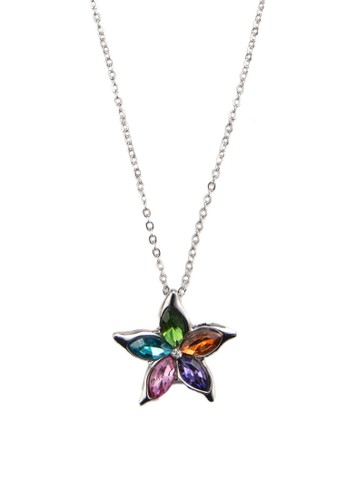 彩esprit holdings石幸運星吊飾項鍊, 飾品配件, 飾品配件