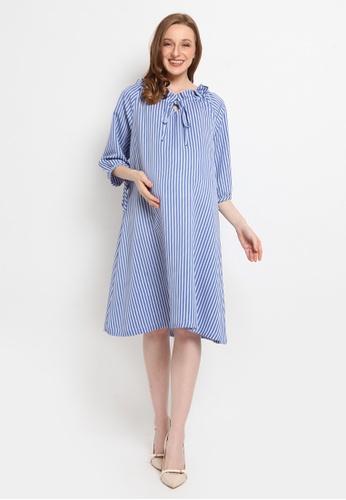 Chantilly blue Chantilly Maternity Dress 74204AA28CFF2DGS_1