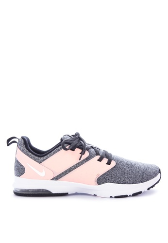 Nike black and white and pink Women's Nike Air Bella TR Training Shoes B2F85SH80C2103GS_1