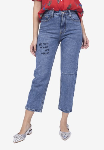 Caoros blue Statement Jeans 0DD69AA7DC14D1GS_1