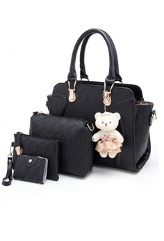 European style leather bags and wallet