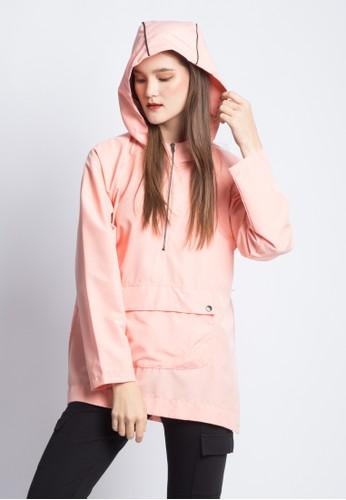 ANTHM pink WOMEN PARACHUTE HOODIE 65F21AAA1DD528GS_1