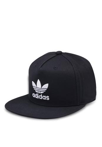 adidas black adidas originals ac cap tre flat 8CD29AC244955AGS_1