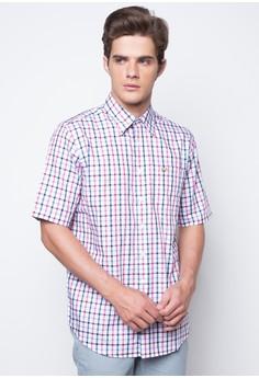 Cotton Four Color Gingham Plaid Shirt