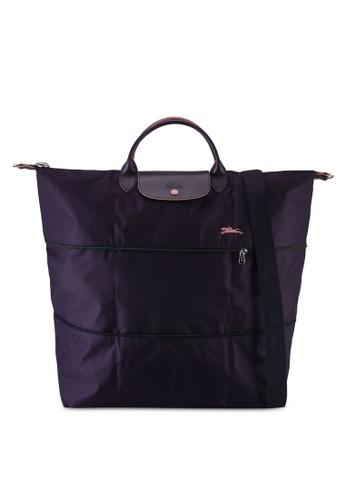 LONGCHAMP blue Le Pliage Club Travel Bag (nt) 0E52FAC221E8F6GS_1