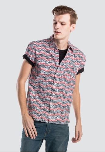 Levi's multi Levi's Sunset One Pocket Shirt 085AAAA72CA345GS_1