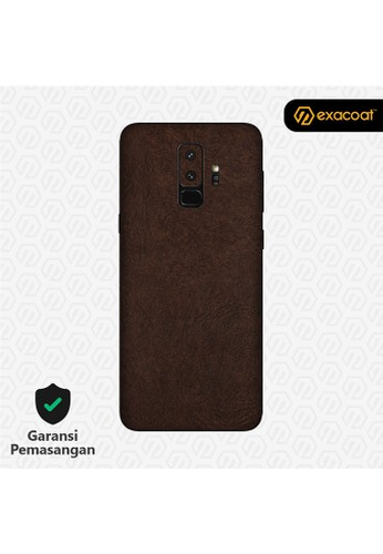 Exacoat Galaxy S9+ Skins Leather Brown - Cut Only 0C2F6ESC090DF4GS_1