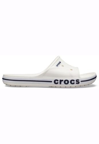 1d9718b310a14 Crocs white Bayaband Slide Whi Navy B5B9BSH447D385GS 1