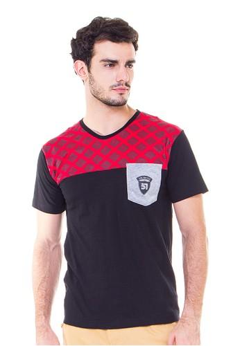 JAVA SEVEN Casual Men T-Shirt Mastoti Red Squirell
