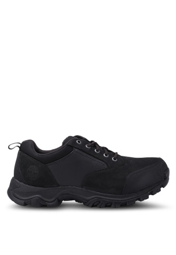 Timberland black Keele Ridge Waterproof Low Boots TI063SH0SB8WMY_1