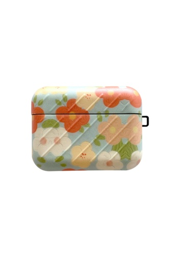 Kings Collection blue Fresh Red and White Flowers AirPods Case KCAC2195 FB302AC348F41AGS_1