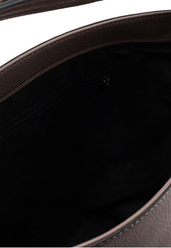 6c39cd2593f8 Buy Dorothy Perkins Grey Scallop Strap Hobo Bag Online