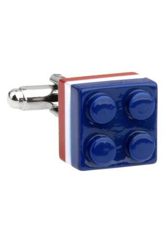 The Little Link Cufflinks blue French Lego cufflinks TH089AC0G4XOSG_1
