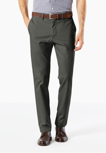 Dockers grey Dockers Standard Clean Khaki Slim Tapered Pants Steelhead 4C264AA10CE836GS_1