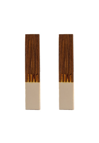 niko and ... brown Board Earrings 1D5A3AC06A04B6GS_1