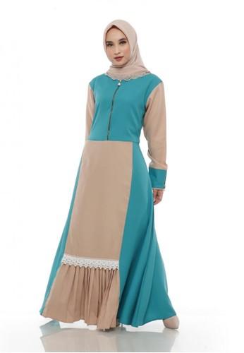First Hijab blue Dress Hanessa Ghaitsa in Tosca 17559AA8103753GS_1