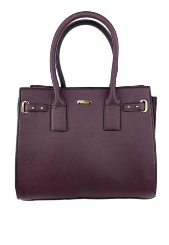 Mel&Co red Faux Leather Satchel Bag 9398EACE1D7405GS_1
