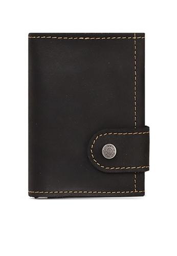 Twenty Eight Shoes Vintage Genuine Leather RFID Security Multifunctional Mini Wallet BP906 50B4BAC49FB487GS_1