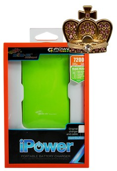 MSM.HK Powerbank 7200mAh PowerBank With FREE CROWN 360° Mobile Rotating Grip Ring