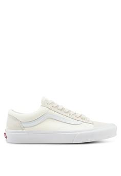 196a7eabda0d VANS white Style 36 Vintage Sport Sneakers 8125BSHE0C9F3DGS 1