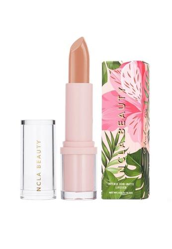 NCLA pink NCLA Semi-Matte Lipstick - Hidden Hills Hottie 4g A9904BE3FDE707GS_1