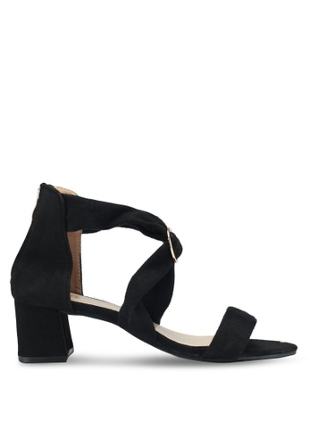 Mimosa black Block Heels C2379SH55A90F1GS_1