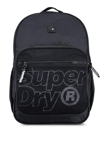 Superdry black Scholar Rucksack E6DECACDCB8408GS_1