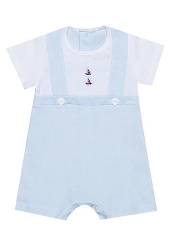RAISING LITTLE blue Darito Outfit Set 30894KA80AC642GS_1