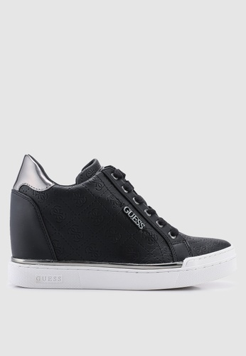 6cc1dad8d47 Buy Guess Florurs Hidden Wedge Sneakers Online on ZALORA Singapore