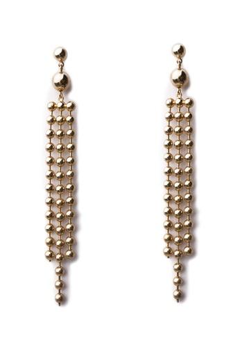 Gung Jewellery gold Calida Drop Pearl Earrings in Gold 9D28DAC91B2099GS_1